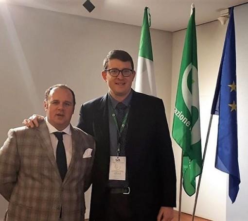 Il presidente Carenini con il vice Durando