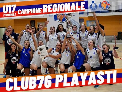 Il Club76 PlayAsti Brumar Fenera è campione regionale U17