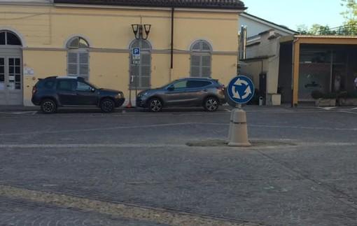Foto della piazza tratta da Facebook