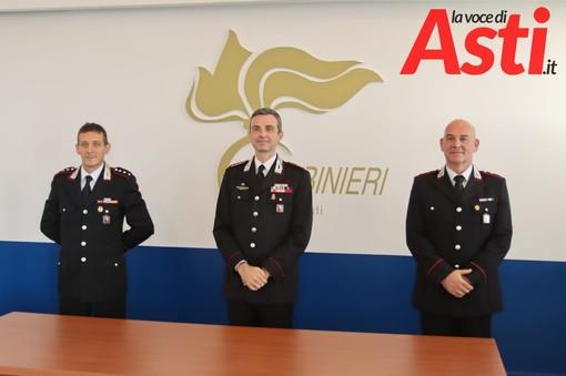 Nella foto (realizzata da Efrem Zanchettin - MerfePhoto, come tutte quelle presenti in questo articolo), da sinistra: il Cap. Barisonzi, il comandante provinciale Breda e il Ten. Col. Bosini