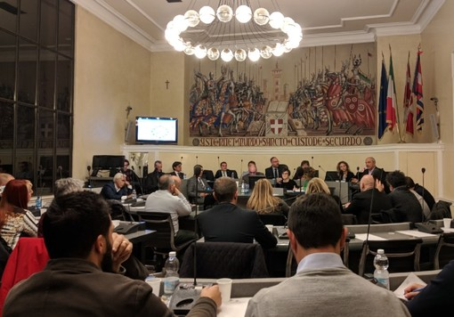 Un immagine d'archivio del consiglio comunale di Asti