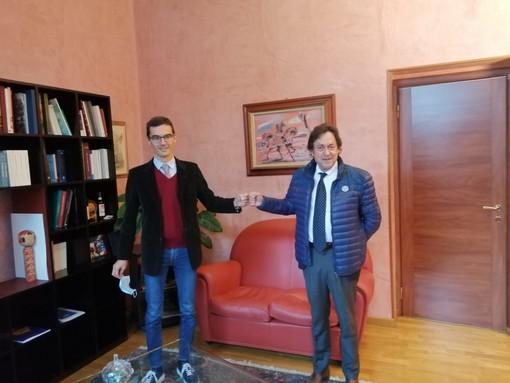 Paolo Lanfranco ha incontrato il neo presidente della Camera di Commercio di Alessandria e Asti