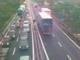 Un'immagine d'archivio di code sulle autostrade liguri