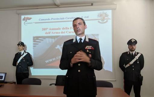 Il comandante provinciale dell'Ama, ten. col. Pierantonio Breda