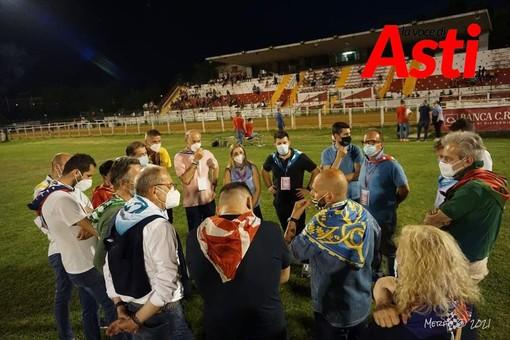 Collegio dei rettori allo stadio di Asti