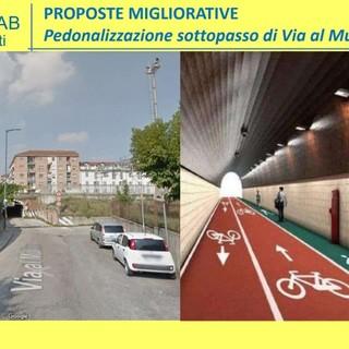 Tra le proposte anche la pedonalizzazione del sottopasso di via al Mulino