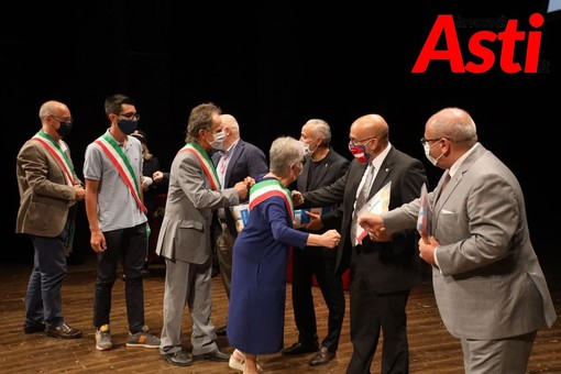 Cerimonia di consegna dei drapò ai sindaci Astigiani - Galleria fotografica a cura di Efrem Zanchettin - MerfePhoto