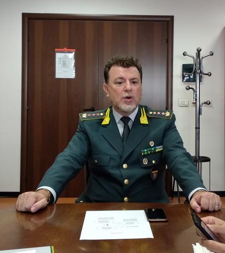 Coronavirus, ricoverato ad Alessandria il comandante provinciale della Guardia di Finanza di Asti Fabio Canziani