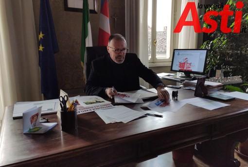 Il sindaco Cavallero