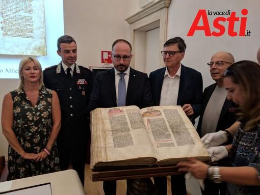 Dopo 50 anni ad Asti torna in mostra il Codex Astensis