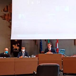 Nella foto il presidente Paolo Lanfranco, il Consigliere Provinciale Andrea Giroldo e il funzionario dott. Michele Maldonese