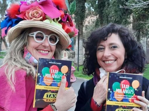 """Il 17 luglio a Canelli la presentazione del libro """"Taxi Milano 25"""" di Zia Caterina"""