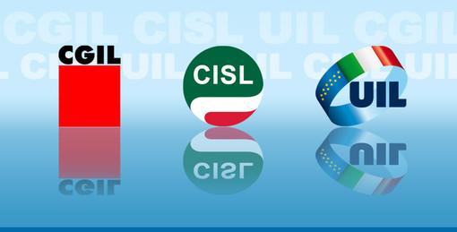 Presidio di CGIL, CISL e UIL contro l'aggressione turca in Siria