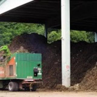 Un impianto di compostaggio di GAIA