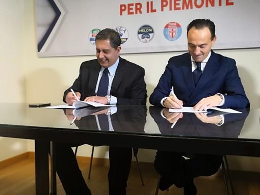 """Patto tra Piemonte e Liguria, Toti e Cirio:""""vogliamo diventare motore economico Italia"""""""