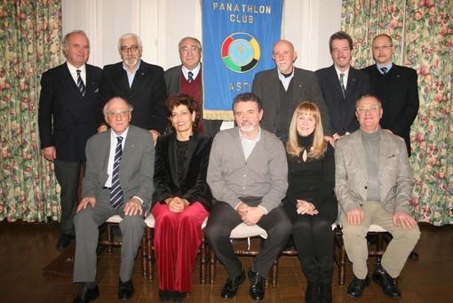 Il Consiglio Direttivo uscente del Panathlon Club di Asti