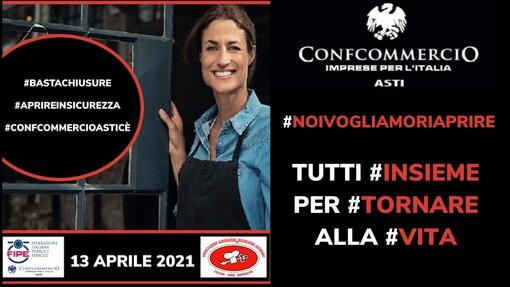 Anche la Confcommercio di Asti aderisce alla manifestazione nazionale organizzata da FIPE (VIDEO)