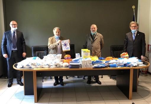 Nuova donazione del Rotary Club Asti, consegnati DPI all'Ordine dei Medici