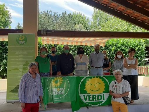 Il direttivo provinciale, recentemente rinnovato, di Europa Verde Asti