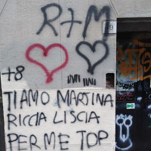 """""""Non solo Bosco dei Partigiani, si ripuliscano da sconci graffiti anche i muri della scuola Dante"""""""