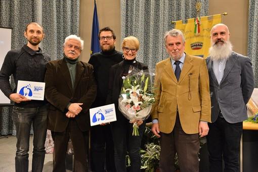 L'immagine fa riferimento alla premiazione dell'edizione 2018 del Concorso