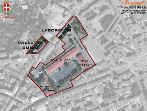 Elaborazioni grafiche che il Comune di Asti ha utilizzato, in passato, nel corso di alcuni incontri con la cittadinanza