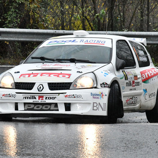 Un'auto in gara in una precedente edizione del Rally