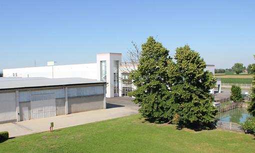 La sede della Fra Production di Dusino San Michele