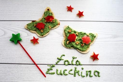 Felici & Veloci, la nuova ricetta di Fata Zucchina: 'Farfalle di piadina'