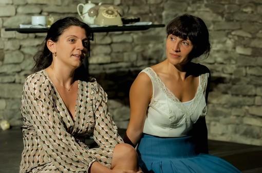 Claire-Sophie Beau e Valeria Dafarra - foto Franco Rabino