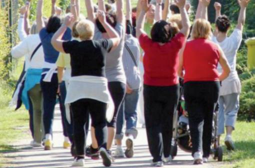 Immagine d'archivio di un Gruppo di cammino