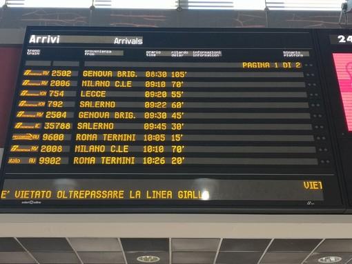 Incidenti sulle linee ferroviarie del Piemonte, treni in forte ritardo