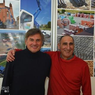 I fratelli Mauro e Roberto Mollo, alla guida del gruppo albese (Ph Mauro Gallo Fotografo, Alba)