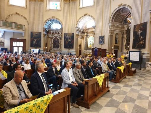 Nella fotografia un'immagine della XXII Giornata interregionale tenutasi ieri a Loano