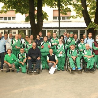 "Foto di gruppo per i partecipanti al 13° Mem. ""Giorgio De Alexandris"""
