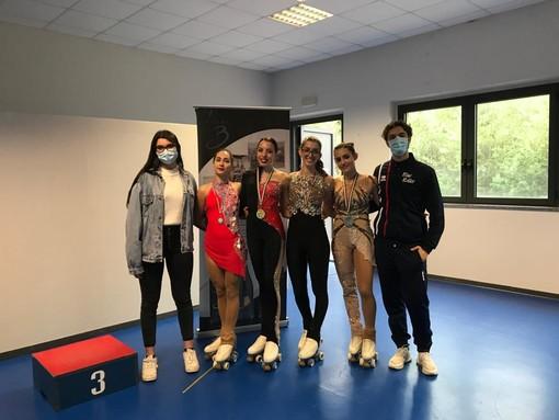 Ottimi risultati per la Blue Roller Asti ai campionati regionali UISP 2021
