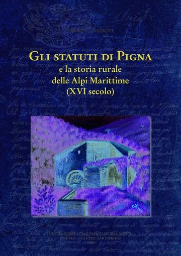 """L'astigiano Marco Cassioli a Ventimiglia con il suo """"Gli statuti di Pigna e la storia rurale delle Alpi Marittime"""""""