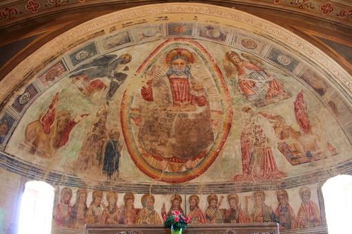 Gli affreschi quattrocenteschi nella chiesa romanica di San Felice e Nicolao