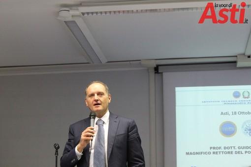 L'Istituto Artom di Asti inaugura il nuovo indirizzo chimico, alla presenza del Rettore del Politecnico di Torino