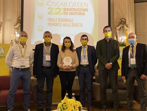 I filtri di cantina diventano portabottiglie: Martina Bodda vince l'Oscar Green regionale