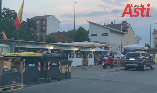 Rissa in via Torchio. Sei persone fermate dai carabinieri, altre quattro sono fuggite