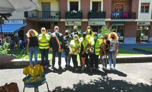 Volontari e esercizi commerciali della zona hanno contribuito alla pulizia di viale Pilone