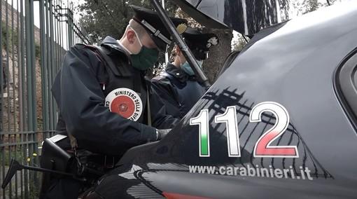 Controlli dei carabinieri (immagine d'archivio)