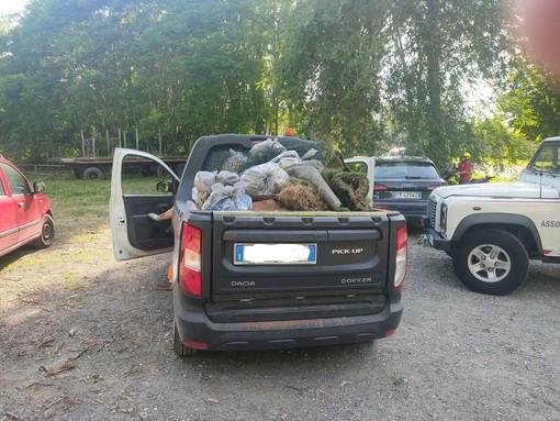 130 sacchi di immondizia in due ore. Un successo la giornata ecologica a Costigliole [FOTO]
