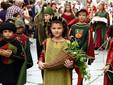 La sfilata dei bambini, uno degli eventi collaterali più amati