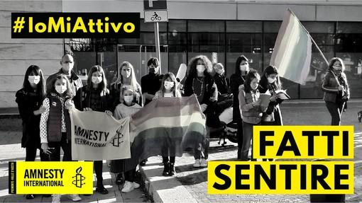 Anche ad Asti un banchetto Amnesty International nell'ambito dell'iniziativa #Iomiattivo