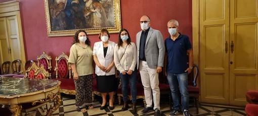 Il sindaco Rasero e l'assessore Cotto hanno incontrato la rappresentante nazionale area Nord del Servizio Civile