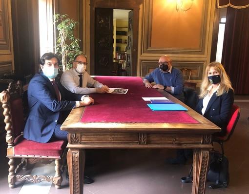 Asti: ricevuto in Municipio il Presidente del Comitato Regionale Piemonte delle Polisportive Giovanili Salesiane