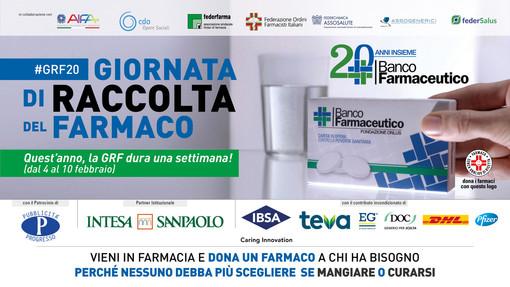 Giornata di raccolta del Farmaco. Dal 4 al 10 febbraio, anche nell'Astigiano si possono acquistare medicinali per aiutare i più bisognosi