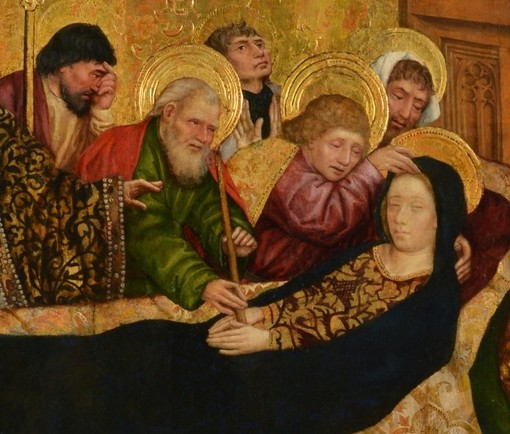 La Morte della Vergine di Antoine de Lonhy